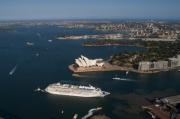 飛鳥II シドニー港
