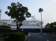 名古屋港に停泊するにっぽん丸