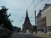 ロストックの街並