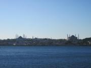 イスタンブールの町並みが見えます