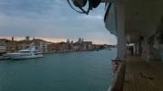 早朝の船上からのベニス、美しい...