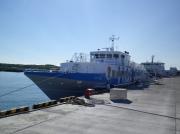 羽幌〜焼尻〜天売を結ぶ羽幌沿海フェリー高速船「さんらいなぁ2」