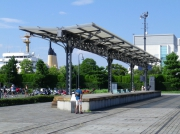 旧横濱港駅プラットホーム跡