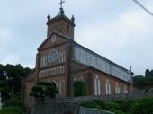 黒島のシンボル「黒島天主堂」