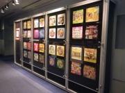展望フロアの一角にディズニーレコードのジャケットがずらりと展示されています。
